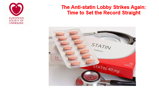 The Anti-statin Lobby Strikes Again:  Time to Set the Record Straight